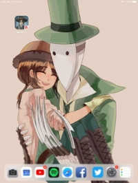 Gardener loves the leaf costume :3